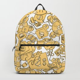 Technology! - Yellow Backpack