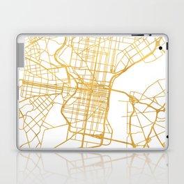 PHILADELPHIA PENNSYLVANIA CITY STREET MAP ART Laptop & iPad Skin