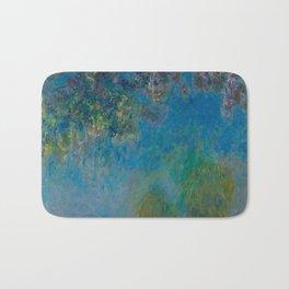 Claude Monet Wisteria Bath Mat