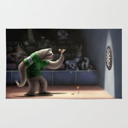 Sloth Darts Rug