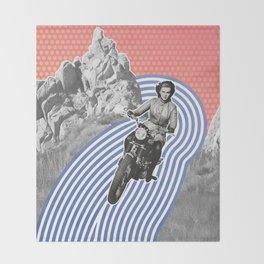 Moto Margret Throw Blanket