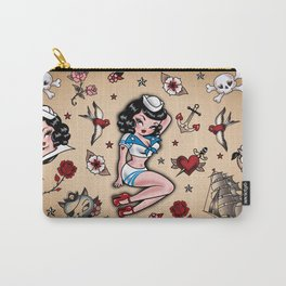 Suzy Sailor Pinup Carry-All Pouch