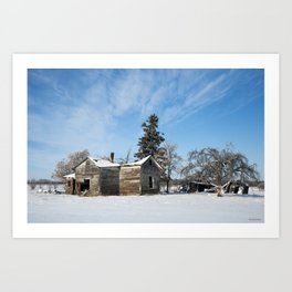 Grasslands's Farm 1 Art Print