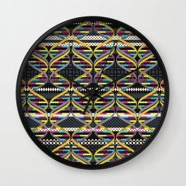 Pattern DNA Wall Clock