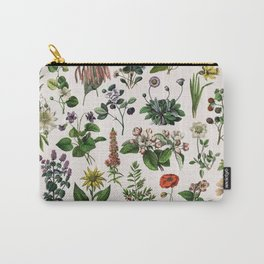 vintage botanical print Carry-All Pouch