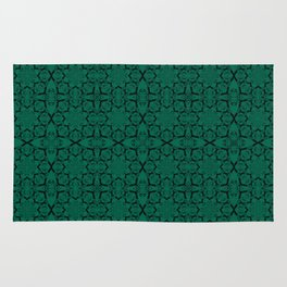 Lush Meadow Geometric Rug