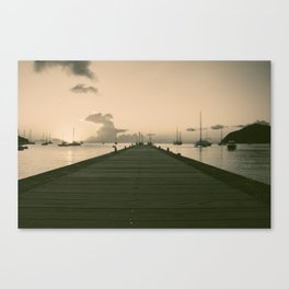 Sea Road Canvas Print