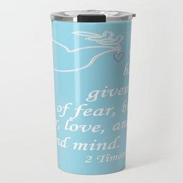 No Spirit of Fear Travel Mug