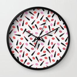 Pucker Up Lippy Wall Clock