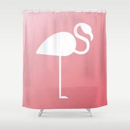 The Flamingo Shower Curtain