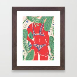 The Art Of Bikini Framed Art Print