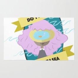 sea girl Rug