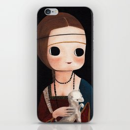 The Lady with Ermine iPhone Skin