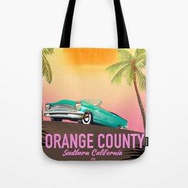 orange county California USA Tote Bag