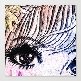 VIRGO / EYE Canvas Print