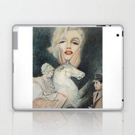 Marilyn - oh diese Männer! - Ölgemälde Laptop & iPad Skin