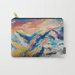 HIMALAYAN LANDSCAPE Carry-All Pouch