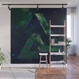 Impossible Triangle Galaxy Wall Mural