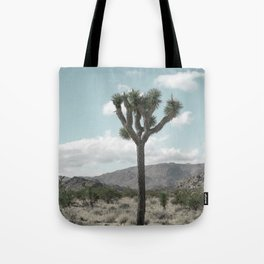 Joshua Tree On A Calm Cool Day Tote Bag