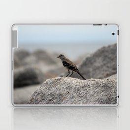 Bird On A Rock By The Sea Laptop & iPad Skin