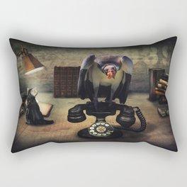 Operator Rectangular Pillow