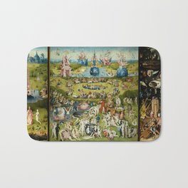 Hieronymus Bosch The Garden Of Earthly Delights Bath Mat