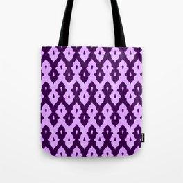 Mauresque Counterchange (Lilac) Tote Bag