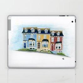 Jellybean Row - Newfoundland houses, buildings Laptop & iPad Skin