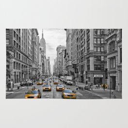 5th Avenue NYC Traffic Rug