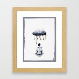 Pain's Gray Framed Art Print