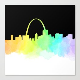 St. Louis Skyline Canvas Print