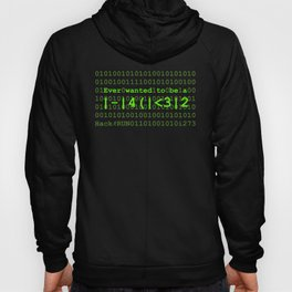 Ever wanted to be a Hacker Hoody