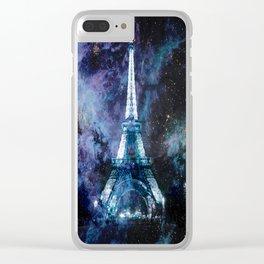 Paris dreams Clear iPhone Case