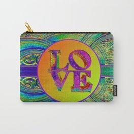 LOVE IN THE TIME OF ART DECO Carry-All Pouch