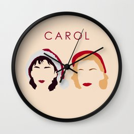 Carol and Therese Belivet Wall Clock