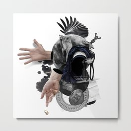 SERENDIP (Totem of the Blind Lame Camel) Metal Print