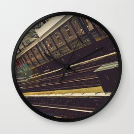 Meet me in the city Wall Clock