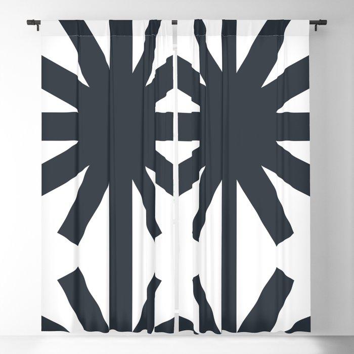 Spring (White) Blackout Curtain