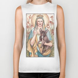 Our Blessed Rebel Queen Biker Tank