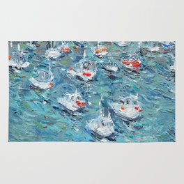 In the Harbor Rug
