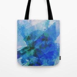 Precipice in Blue XXI Tote Bag