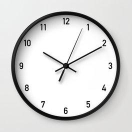 Numbers Clock Wall Clock