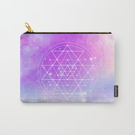 Sacred Geometry (Sri Yantra) Carry-All Pouch