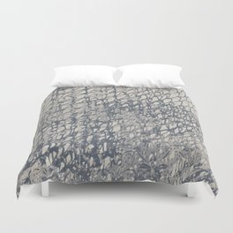 Chain mail medieval Duvet Cover