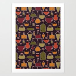 Witchy Potion Art Print