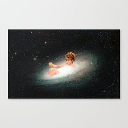 Stars Bathing Canvas Print