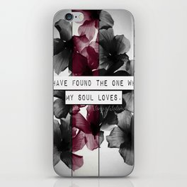 My soul loves iPhone Skin
