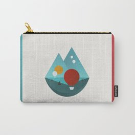 Sky Balloons Carry-All Pouch