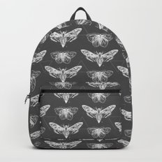 Geometric Moths inverted Backpacks