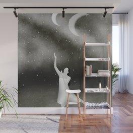 Worshipping the Moon Wall Mural